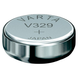 329101111 pile oxyde argent, V329, 1,55 Volt, 36mAh