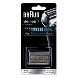 Tête de rasoir Braun 70S – pour rasoir électrique Braun Série 7 Pulsonic – Cassette - 5671760