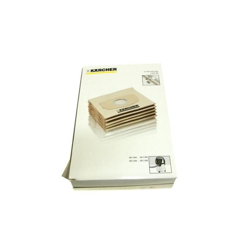 lot de 4 sacs ouate pour aspirateur karcher ka69044090. Black Bedroom Furniture Sets. Home Design Ideas