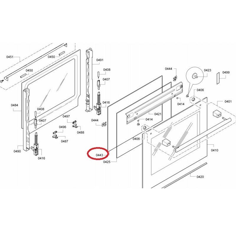 91201305 Candy Thermostat / klixon pour lave-vaisselle