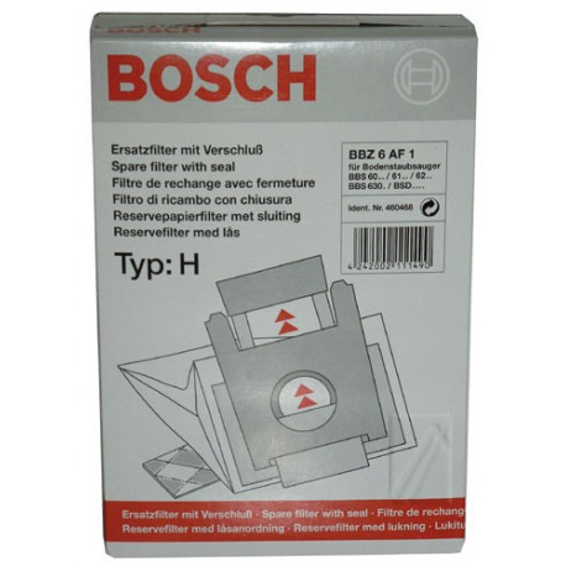 460468 - Sac Aspirateur type H Bosch, Siemens