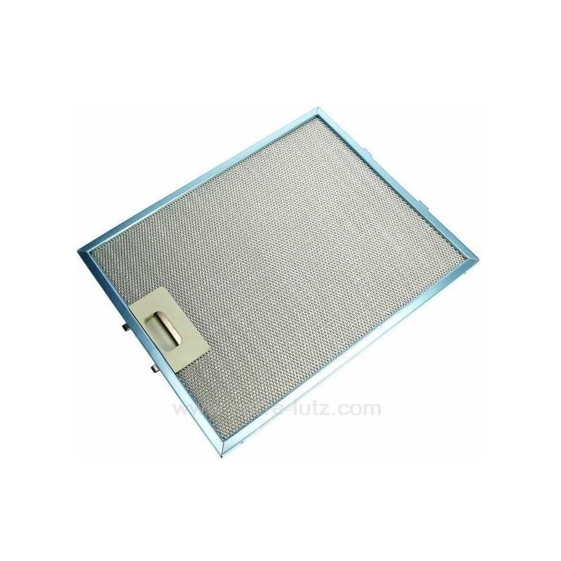 filtre m tal 260 x 320 mm pour hotte scholtes c00076591. Black Bedroom Furniture Sets. Home Design Ideas