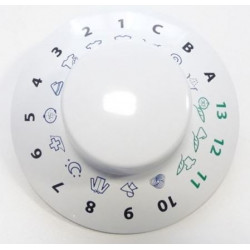 Manette de programmateur pour lave-linge Ariston Indésit C00272207
