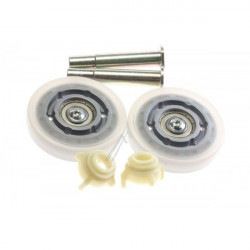 Kit 2 roulettes Galets tendeur de courroie pour Seche-Linge Brandt 57X3200
