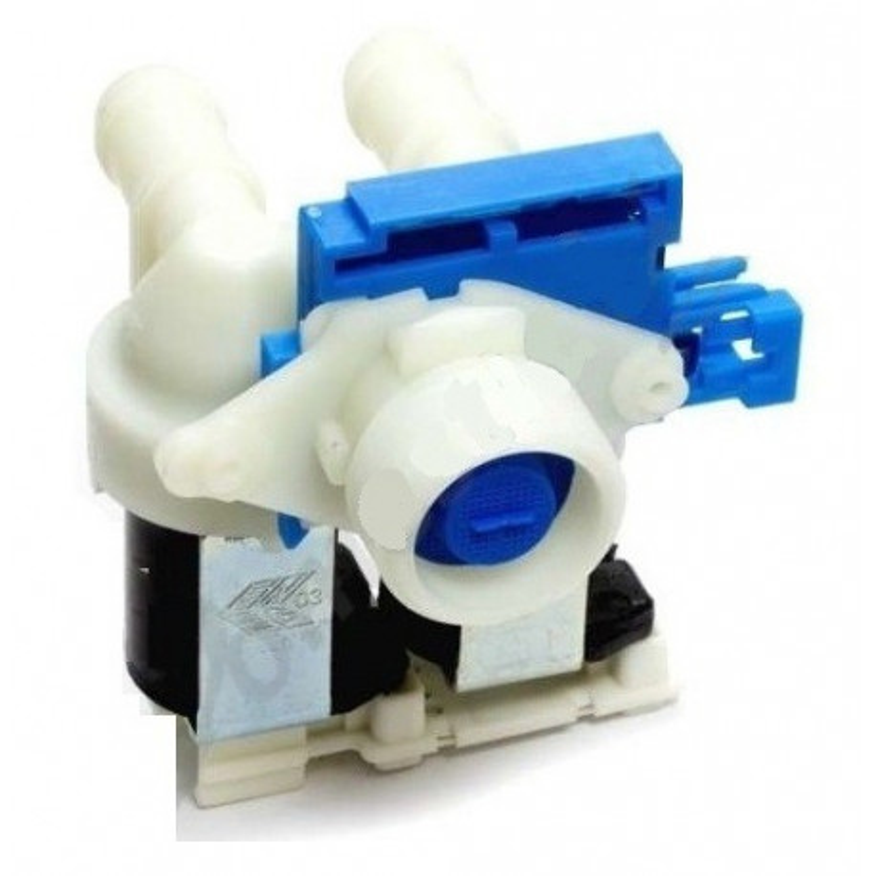 Electrovanne 2 voies 180° pour lave-linge Whirlpool 481071427961