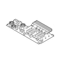 Interrupteur à poussoir pour sèche linge Miele 4765260