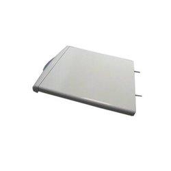 Poignée de porte Argent pour réfrigérateur/congélateur beko 4900061200