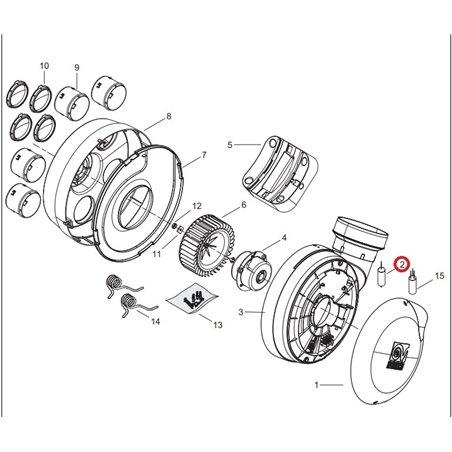Bloc moteur pour aspirateur Dyson 918953-05