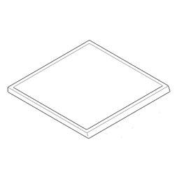 Filtre graisses métallique de hotte Electrolux 50263425006