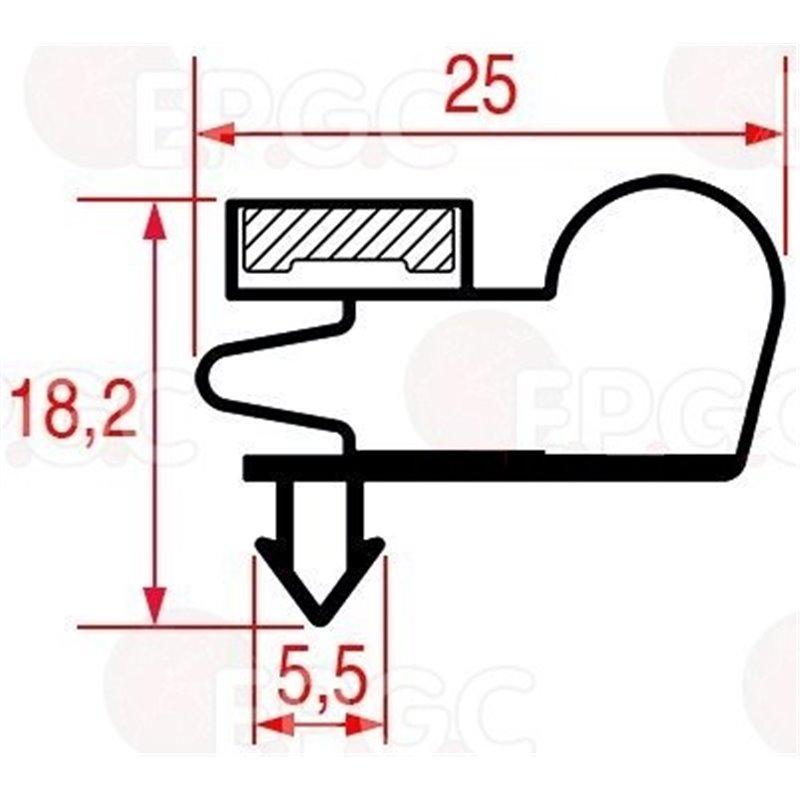 Couvercle hermétique en silicone cristal 28 cm