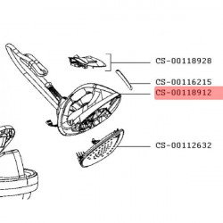 Poignée + base de poignée + cordon Calor CS-00118912