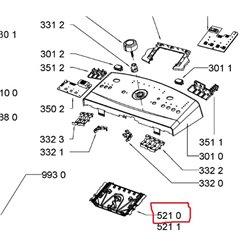Chapeau de brûleur pour table de cuisson whirlpool 481010612011