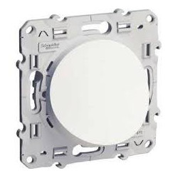 Odace, sortie de câble blanc,à vis, 6 À 12mm2 SCHNEIDER S520662