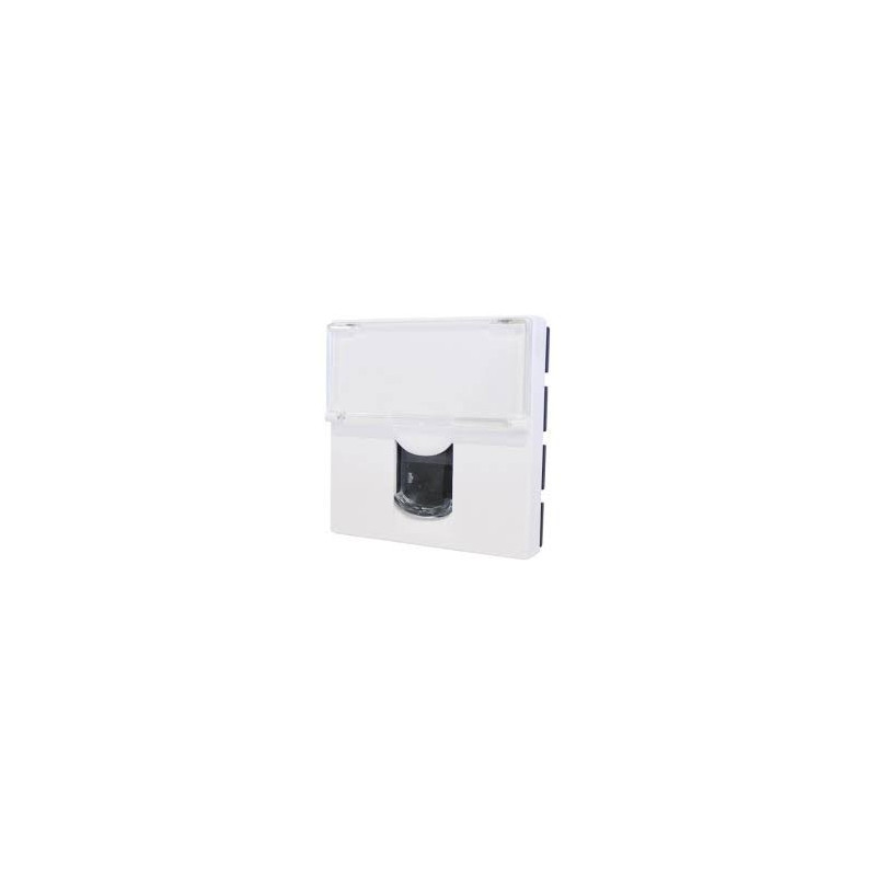 prise rj45 prog mosaic cat 6 ftp 2 mod legrand 076565. Black Bedroom Furniture Sets. Home Design Ideas