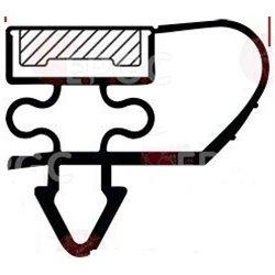 Boitier à embouts prog plexo composable gris - 3 postes verticaux LEGRAND 069679