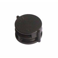 Kit DCL point de centre + fiche/douille E27 - diamètre 67 mm EUR'OHM 53062