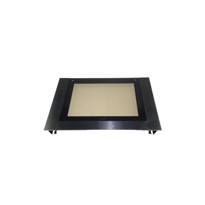 vitre ext rieure pour four whirlpool 480121101592. Black Bedroom Furniture Sets. Home Design Ideas