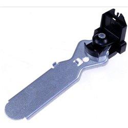 Bloc couteaux bois noir.