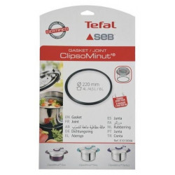 Joint pour autocuiseur SEB X1010008 - ClipsoMinut'® / Easy / Perfect - 22 cm - Noir