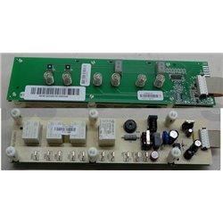 Verseuse noire en verre 15 tasses Moulinex Seb FH900401