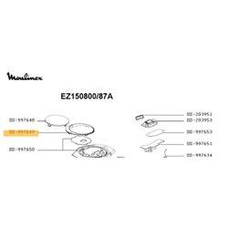 00651261 - Bouchon de chaudiere centrale vapeur Bosch 00651261