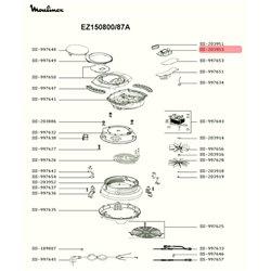 Interrupteur marche/arrêt pour lave-vaisselle Far 32006362