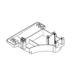 Foyer radiant Ø 210 M/M 2200 W pour table de cuisson WHIRLPOOL 481231018892