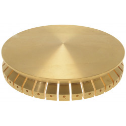 Chapeau de brûleur Diamètre 100 mm Solymac