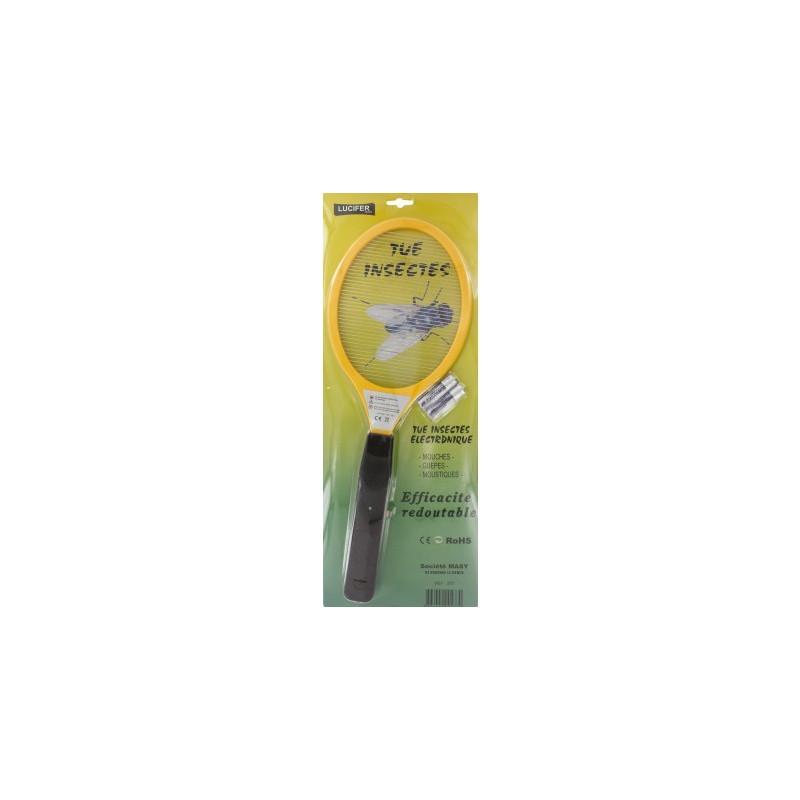 Raquette lectrique anti moustiques mouches - Raquette anti moustique ...