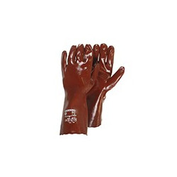 Paire de gants PVC, protection acide