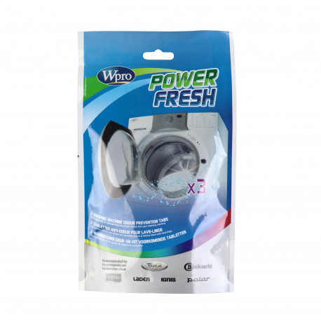 AFR300 - Power fresh 3 tablettes anti - odeur pour lave - linge
