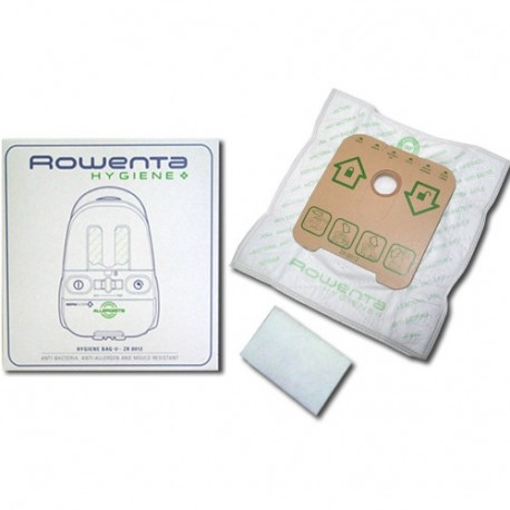 sacs aspirateur rowenta hygiene sac pour aspirateur rowenta. Black Bedroom Furniture Sets. Home Design Ideas