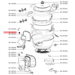 Ressort pour autocuiseur Cookeo Moulinex SS-993411