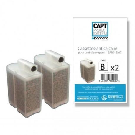 Cassettes anti calcaire sans EMC pour centrale vapeur pack de 2 - Domena 500970813
