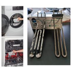 Poudre de détartrage et dégraissante pour lave-vaisselle et lave-linge - C00090524