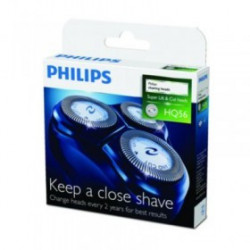 Tête philips HQ3/HQ4/HQ55-lot de 3 tête