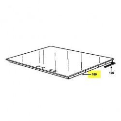 Dessus de verre vitroceramique Brandt 77X9931