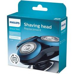 Support complet de 3 têtes Philips RQ10/50 (ex RQ10/40) – pour rasoir Philips Arcitec