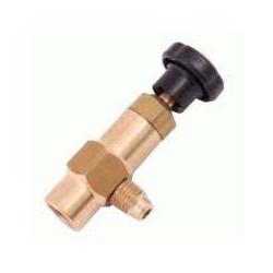 """Vanne de service 1/4"""" Adaptateur robinet de contrôle CLIM R407C R22 R422, 481936051107"""