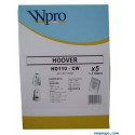 HO110W Sac adaptable papier aspirateur Hoover 481281729664
