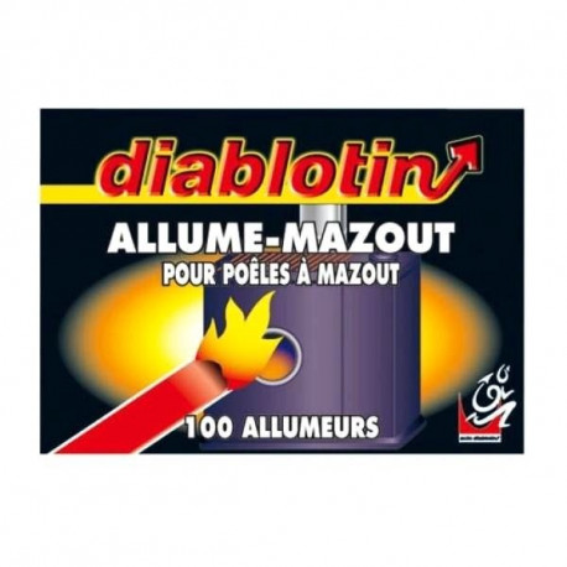 Allume Mazoute DIABLOTIN en 100 p