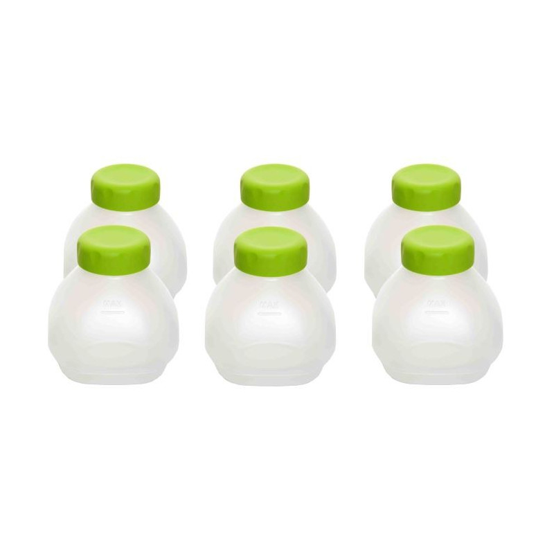 Lot de 6 bouteilles yaourt boire xf102000 seb - Yaourt a boire seb ...