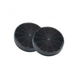 Filtre a charbon rond 146mm Modèle D145 2 pièces
