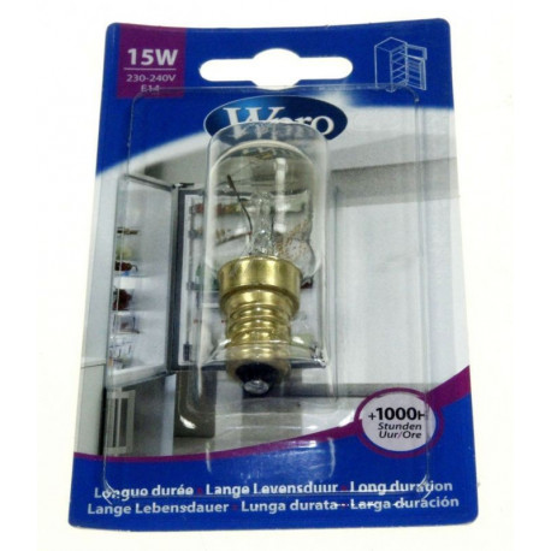 Ampoule réfrigerateur E14 T25 - 15W - 220V LRF138