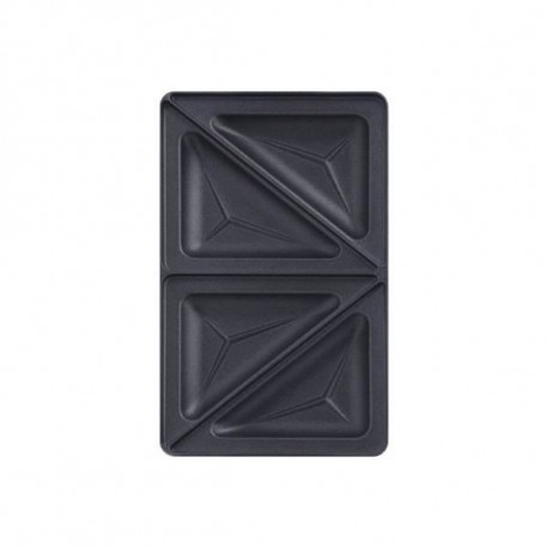 Coffret 2 plaques croques triangle + 1 livre de recettes