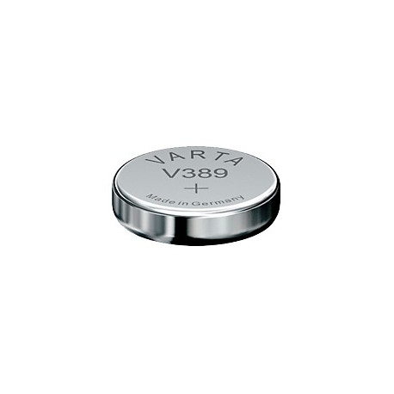 VARTA Pile bouton Oxyde d'argent 1.55 V 85mAh V389