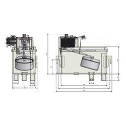 Balconnet de porte refrigerateur Sauter 41x4193