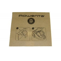 Sac papier rowenta x1 RS-RT9976