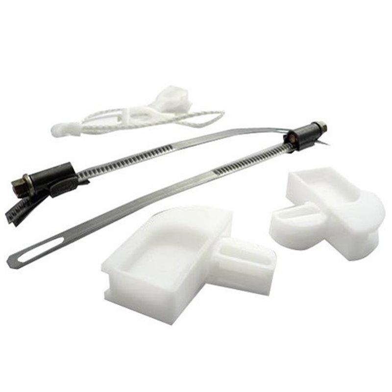 Verrou bac a eau Gauche pour refrigerateur electrolux 2425306079