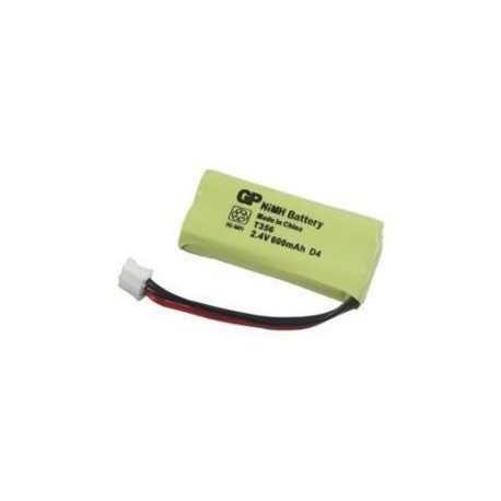 2 Accus rechargeables HR06 AA 600 mAh 2,4V - T356
